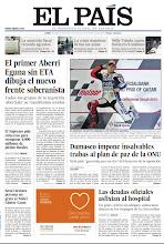 Photo: El primer Aberri Eguna sin ETA dibuja el nuevo frente soberanista, Damasco impone insalvables trabas al plan de paz de la ONU y el Mundial de motos arranca con tripete español, en nuestra portada del lunes 9 de abril http://srv00.epimg.net/pdf/elpais/1aPagina/2012/04/ep-20120409.pdf