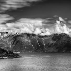 by Jane Bjerkli - Black & White Landscapes