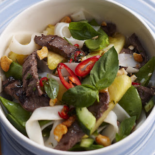 Pineapple and Beef Salad.
