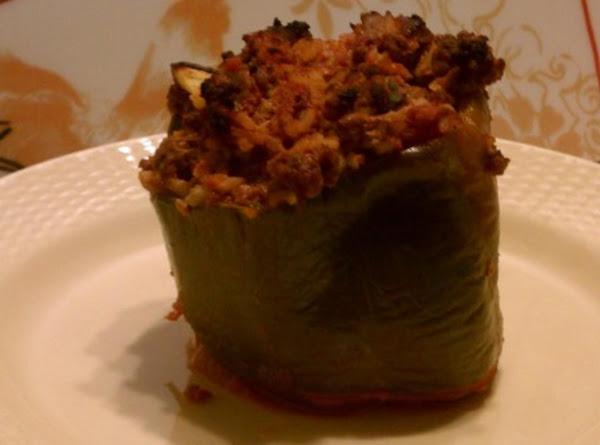 Stuffed Peppers With Zucchini Recipe