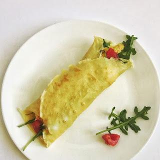 Arugula & Goat Cheese Crepe Recipe