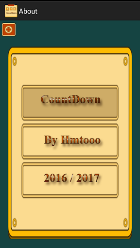 CountDown Event Screenshot