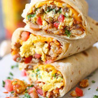 Image result for breakfast burrito