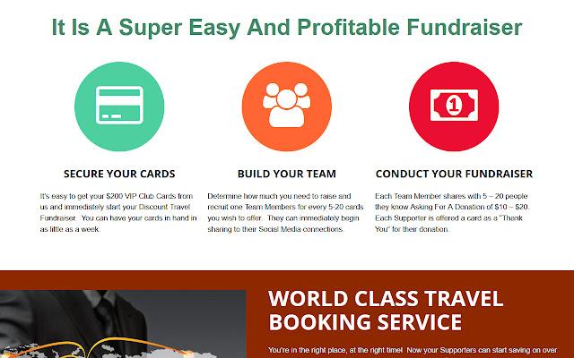 Discount Travel Fundraiser