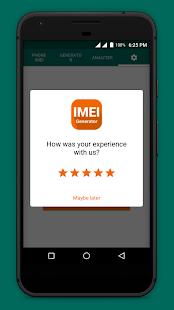 IMEI Generator - náhled