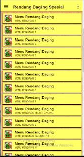 Rendang Daging Spesial - náhled