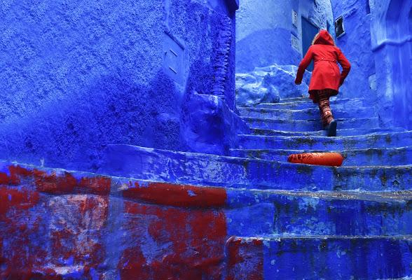 Rosso e blu di BASTET-Clara