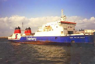 "Photo: Trainferry ""Nord Pas-de-Calais"" at Dunkerque, August 1994"