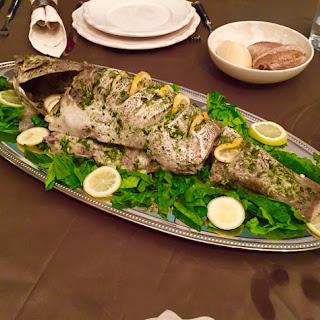 Fish- Cilantro & Garlic