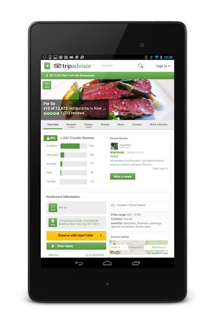 #21. TripAdvisor Hotels Restaurants (Android)