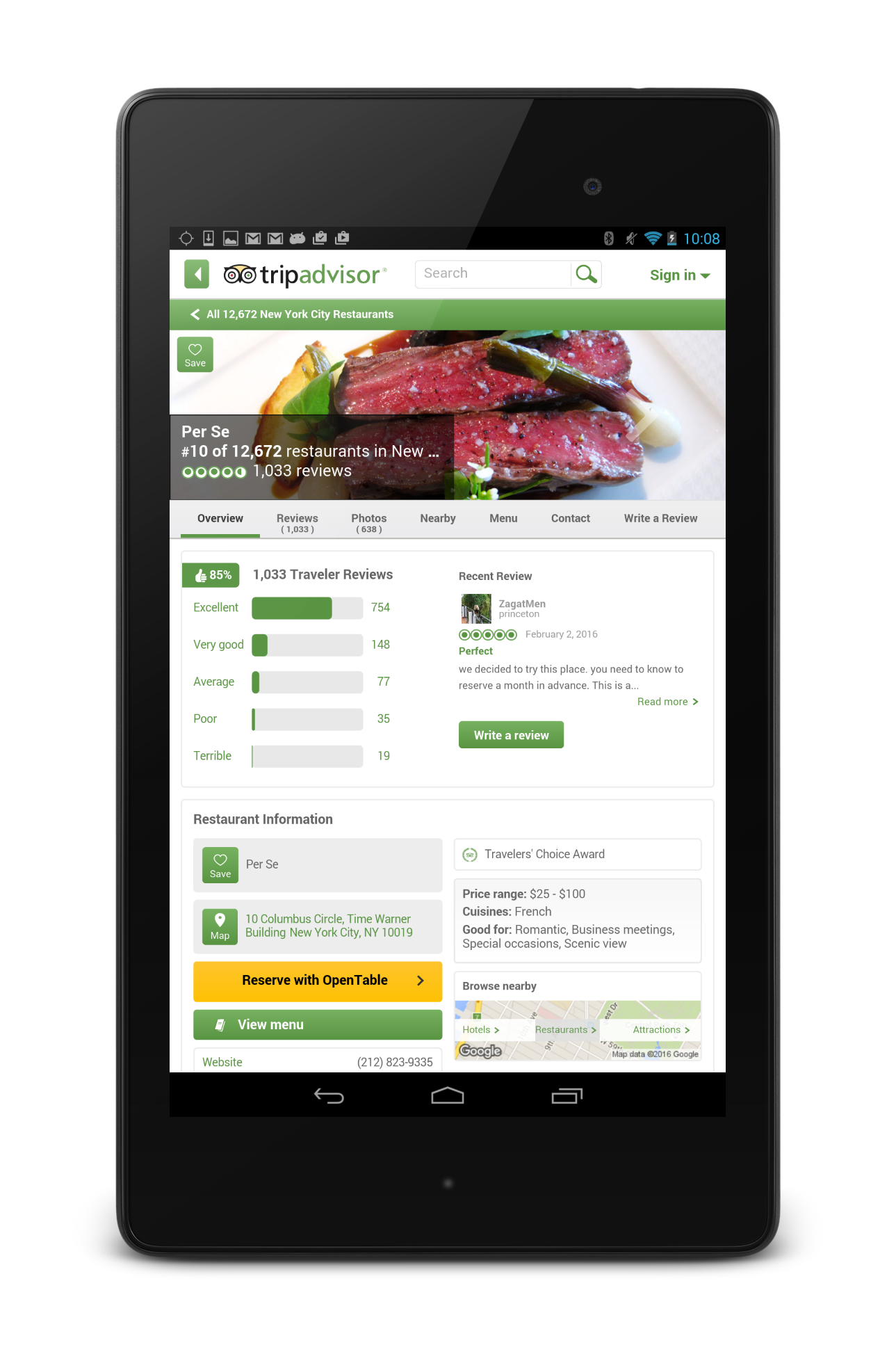 TripAdvisor Hotels Restaurants screenshot #21