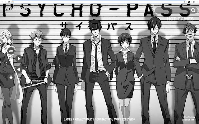 Psycho Pass Hd Wallpapers New Tab
