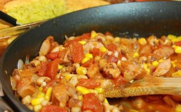 Black Eyed Pea And Smoked Sausage Stew Recipe