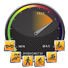 GPS Compass Speedometer Odometer Alert System icon