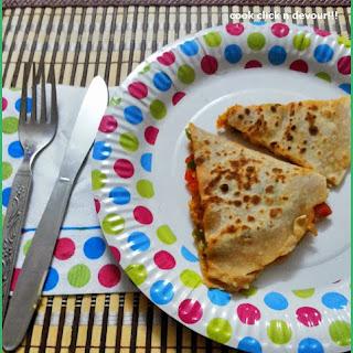 Quesadilla Recipe With Homemade Tortilla