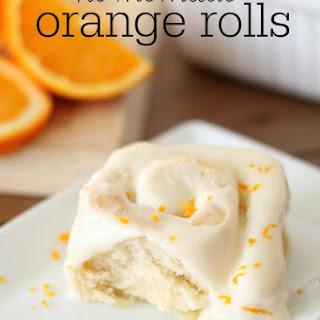 Homemade Orange Rolls