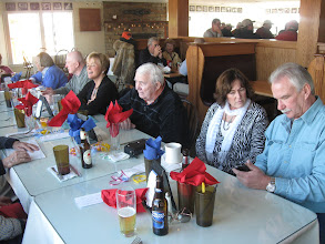 Photo: 2-18-2012. Winter luncheon at Sandwich Hollows Clubhouse Restaurant.
