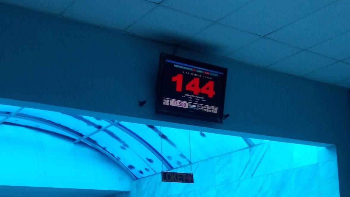 Countdown kuota tiket di Planetarium Jakarta