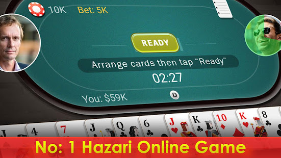 Hazari (হাজারী) - 1000 Points Card Game APK for
