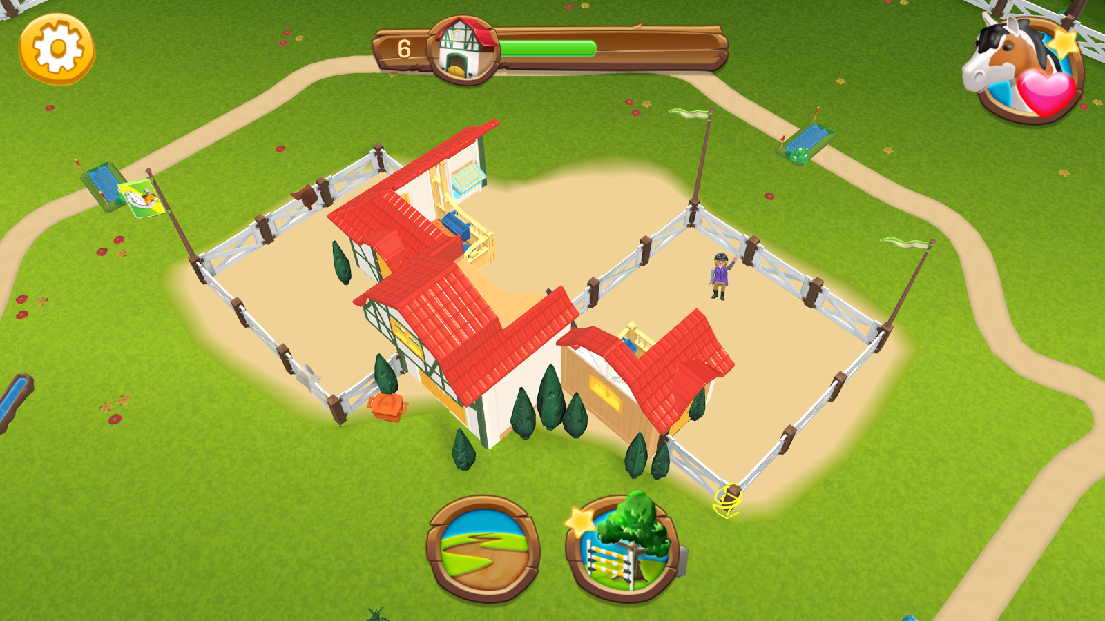 playmobil horse farm android apps on google play. Black Bedroom Furniture Sets. Home Design Ideas