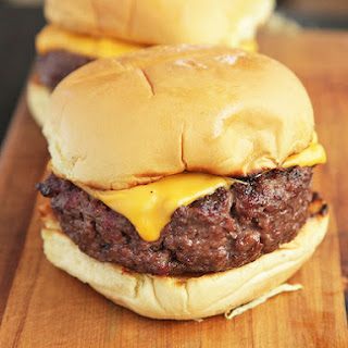 Home-Ground Bison Burgers