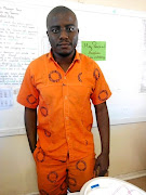 Osiphesona Ngcanga, of East London, during his incarceration for a crime he didn't commit. / SUPPLIED