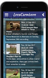 The LocaCarnivore Hunting Magazine App- screenshot thumbnail