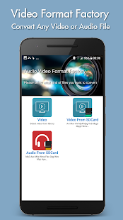 Video Format Factory Screenshot