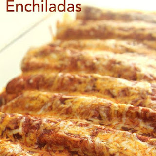 5 Ingredient Chicken Enchiladas