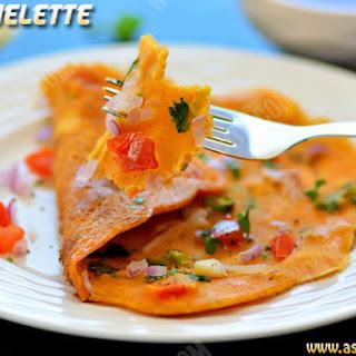 Vegetable Omelette Recipe | Veg Omelette.