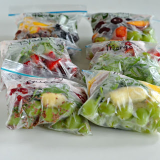 Easy to Make Smoothie Packs are perfect for Back to School