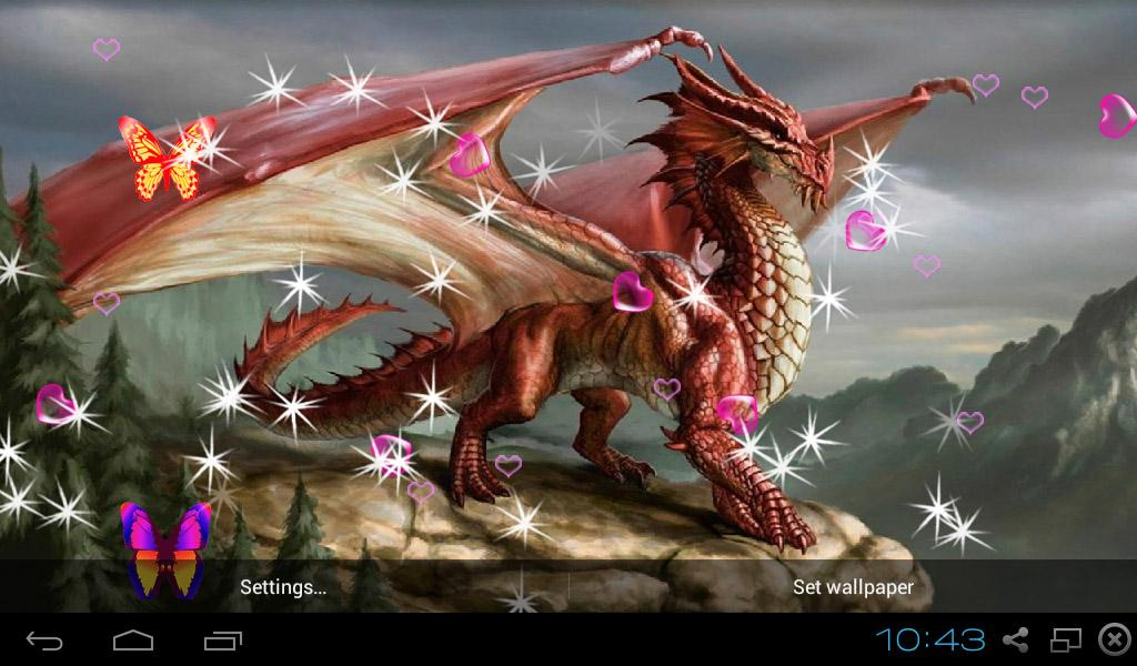 Feature Wall Wallpaper 3d Dragon Live Wallpapers Android Apps On Google Play