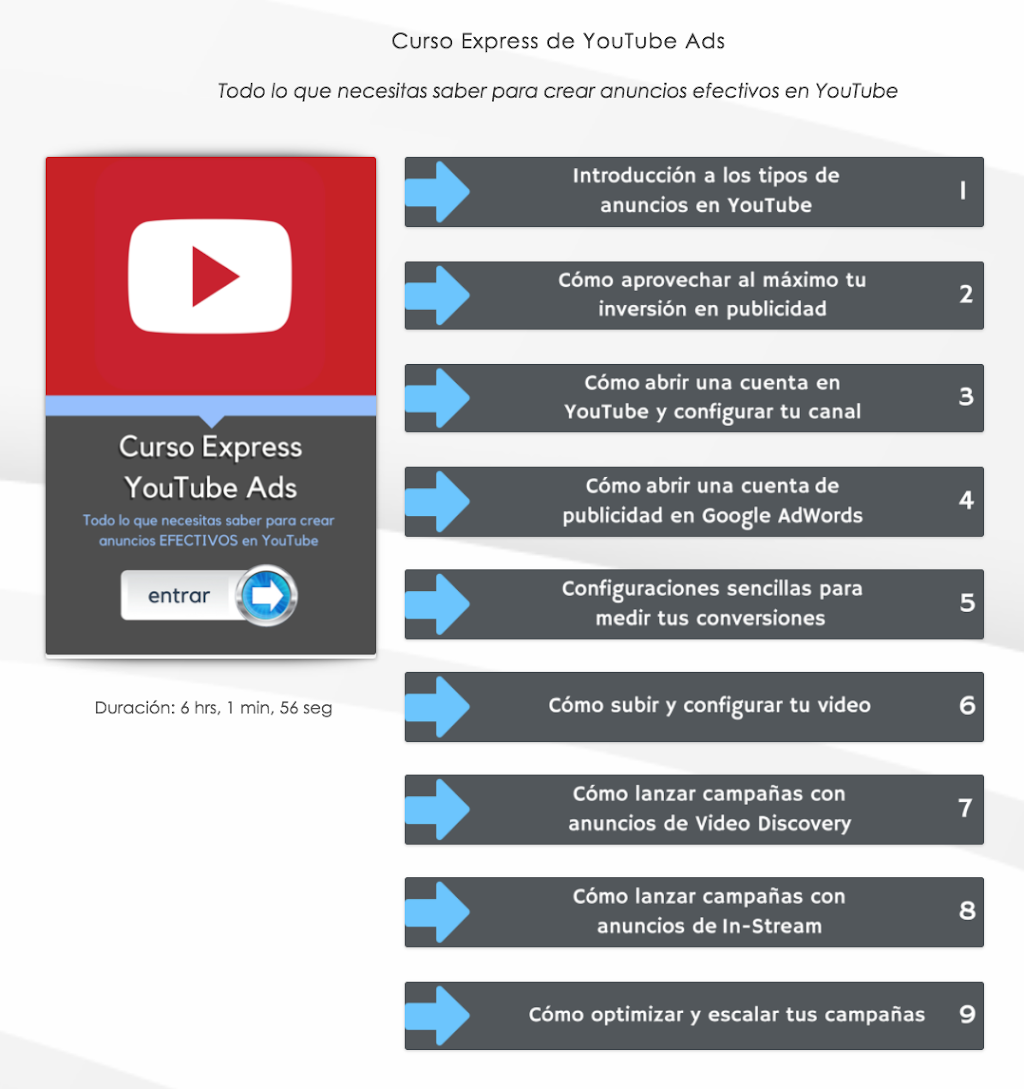 YouTube Marketing Curso Express