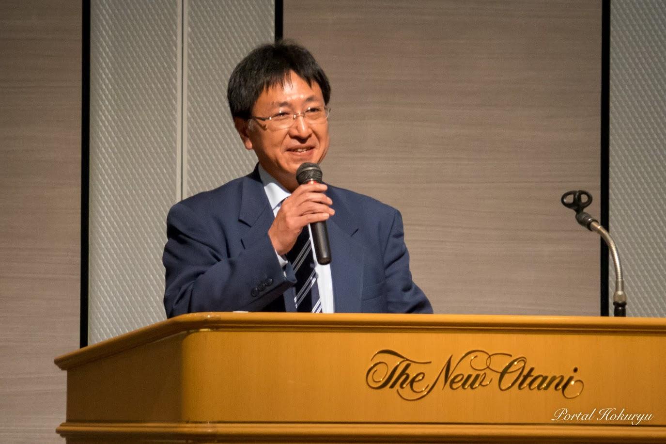 北竜町役場企画振興課・濱田敬一 課長補佐