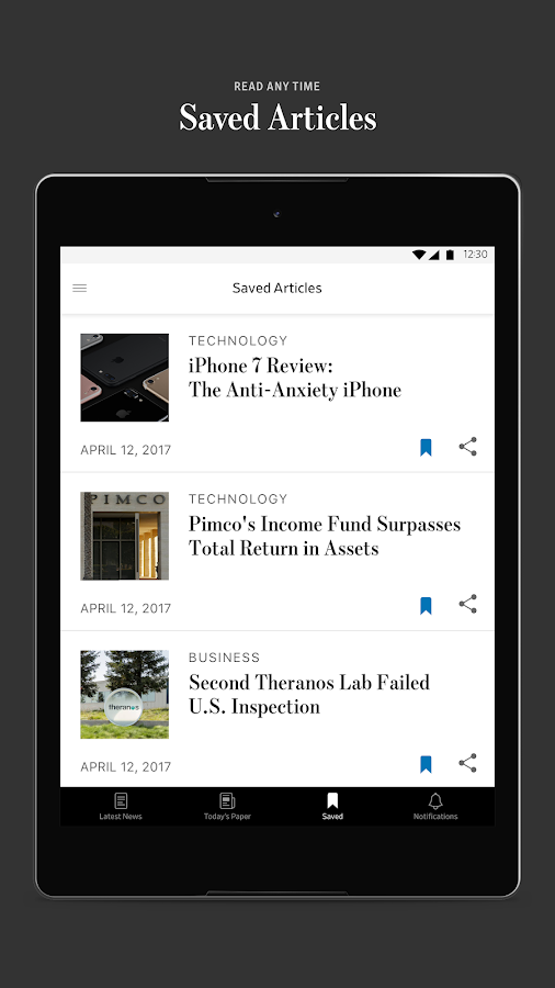 The Wall Street Journal: Business & Market News- screenshot