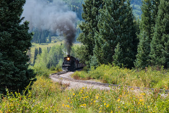 Photo: Cubres and Toltec Railroad near Chama, NM