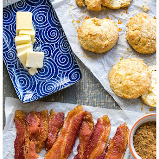 Sweet and Spicy Bacon.