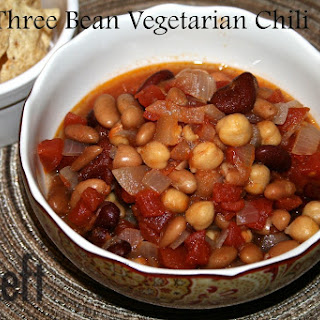 Three Bean Vegetarian Chili – Food Bloggers Support For Sandy