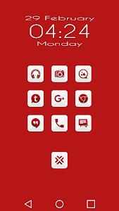 Azer Red - Icon Pack screenshot 2