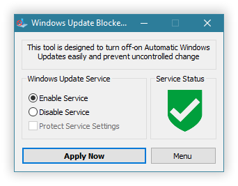 windows update blocker