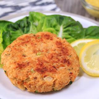 Low-Calorie Crab Cake