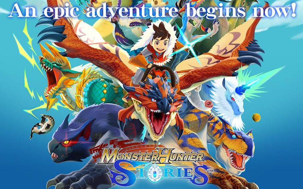 Monster Hunter Stories Android App Screenshot