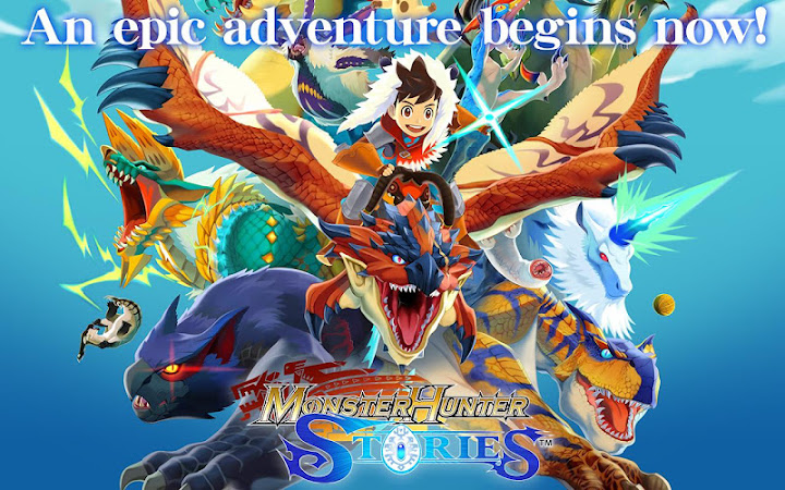 Monster Hunter Stories Android App Screenshot