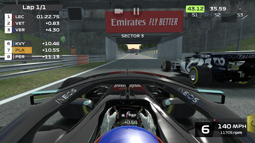 F1 Mobile Racing screenshots 1