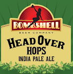 Bombshell Head Over Hops IPA