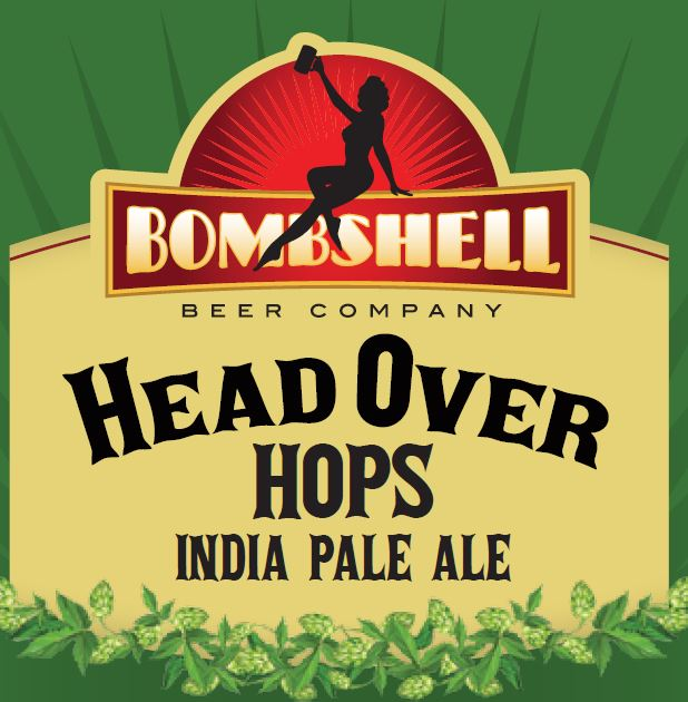 Logo of Bombshell Head Over Hops IPA
