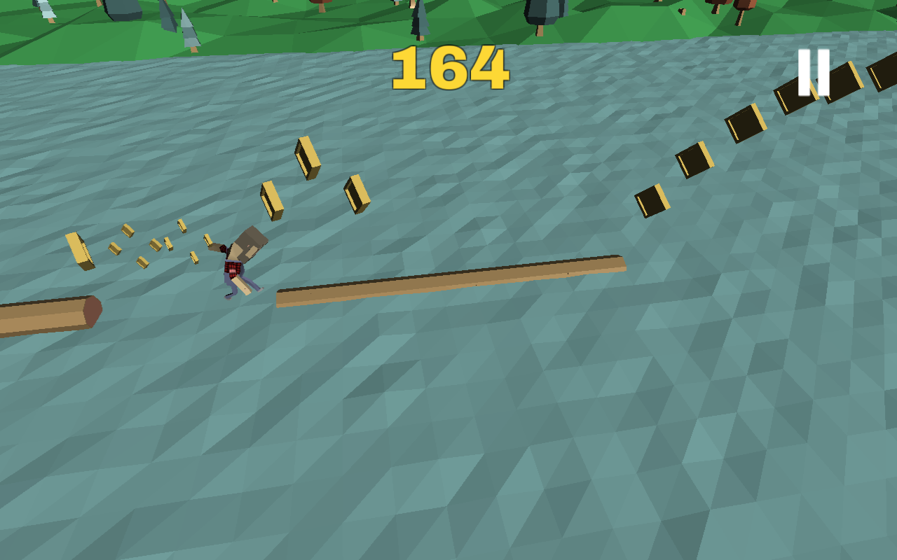 Lumberjill Lumberjack run- screenshot