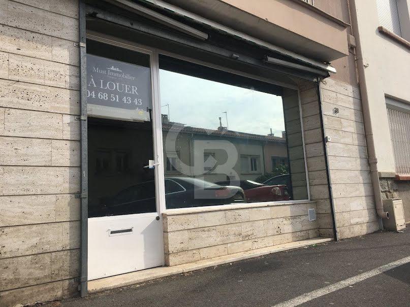 Location  locaux professionnels 3 pièces 49.87 m² à Perpignan (66000), 650 €