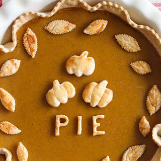 Skinny Pumpkin Pie Recipe