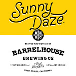 BarrelHouse Sunny Daze / Citrus Blonde Ale